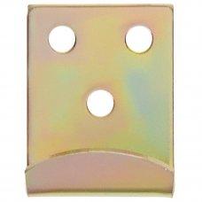 Крюк Gah Alberts для запора 34x2x25 мм цвет жёлтый