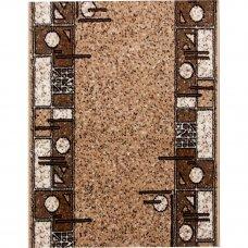 Дорожка ковровая «Лайла де Люкс 50004-22» полипропилен 0.8 м цвет бежевый