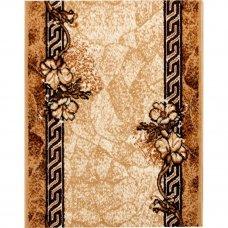 Дорожка ковровая «Лайла де Люкс 50005-22» полипропилен 0.8 м цвет бежевый