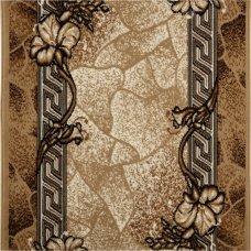 Дорожка ковровая «Лайла де Люкс 50005-22» полипропилен 1 м цвет бежевый
