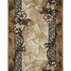 Дорожка ковровая «Лайла де Люкс 50005 22» полипропилен 1.5 м цвет бежевый