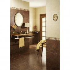 Бордюр «Pietra» 40x11 см цвет коричневый