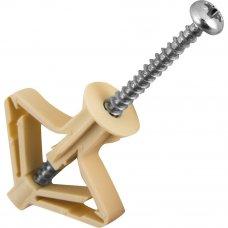 Анкер Standers для листовых материалов, D10 мм, нейлон. PLA, 35 шт.
