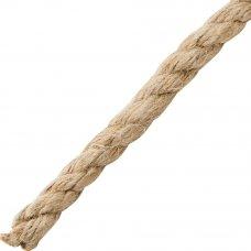 Веревка 14 мм 20 м, цвет золотисто-коричневый