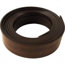 Бленда для пластикового карниза 250 см пластик цвет тёмный орех