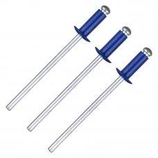 Заклёпка Matrix RAL5005 3.2х8 мм цвет синий 50 шт.