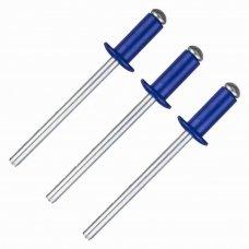 Заклёпка Matrix RAL5005 4х10 мм цвет синий 50 шт.