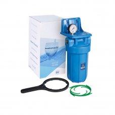 """Корпус c манометром Aquafilter ВВ10 для холодной воды, 1"""""""