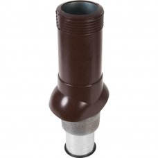 Вентиляционный выход изолированный ТехноНиколь D125/160 коричневый