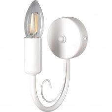 Бра Blanca 1xE14x60 Вт, металл, цвет белый