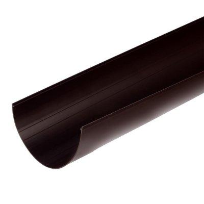 Желоб водосточный 125x3000 мм цвет коричневый