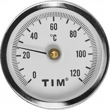 Термометр для воды накладной, 120 град