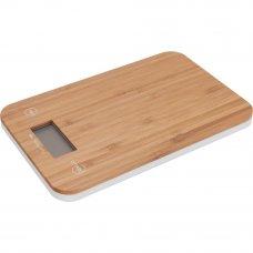 Весы настольные BAO, 23х15х14 см, бамбук