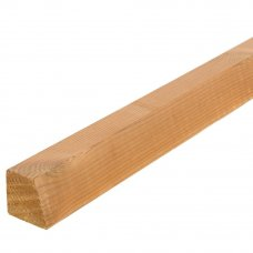 Брусок декоративный санги термо сосна 42х42х2100 мм сращ сорт Экстра без сучков 0.09 м²