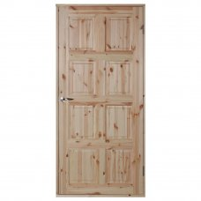 Входная дверь с коробом 900х60х2000 мм хвоя