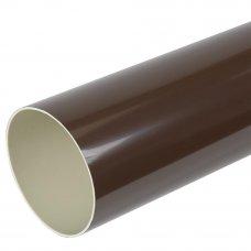 Verat труба 2 м цвет коричневый