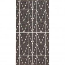 Ковёр Fenix 20412/693, 0.8х1.5 м, цвет чёрный