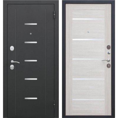 Дверь входная металлическая «Гарда Муар», 960 мм, правая, цвет лиственница бежевая