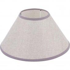 Абажур «Лён» А15128 E27, цвет серый