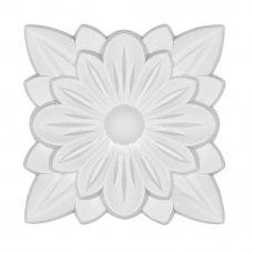 Декор для мебели «Розетка» 534 61х61х8 мм, ПВХ