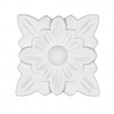 Декор для мебели «Розетка» 20 43х43х6 мм, ПВХ