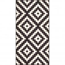 Ковёр Fenix 20454/993, 0.8х1.5 м, цвет чёрный