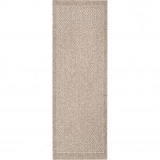 Ковёр Grace 39016/88, 0.8х1.5 м, цвет тёмно-серый