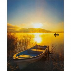 Декопанно «Лодка на закате», 40x50 см