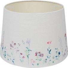 Абажур Linen Ivory Print 7843-5 E27/E14, кольцо, цвет бежевый