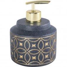 Диспенсер для жидкого мыла Coin, пластик, цвет серый