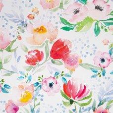 Бумага упаковочная «Цветы» 70х100/1 лист