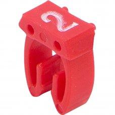 Бирка кабельная маркировочная Oxion 2.5 мм², 150 шт.