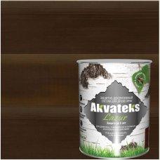 Антисептик Akvateks полуглянцевый палисандр 0.75 л