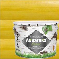 Антисептик Akvateks полуглянцевый калужница 9 л