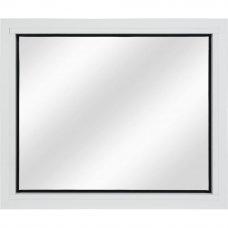 Алюминиевое ограждение балкона глухое 50x60 см белый
