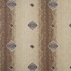 Ковровое покрытие «Баро», 2 м, цвет бежевый/коричневый/принт