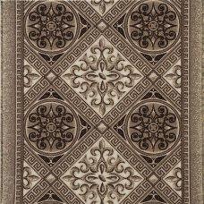 Дорожка ковровая «Джеди» 1 м, цвет коричневый