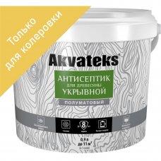 Антисептик Akvateks база C полуматовый бесцветный 0.9 л