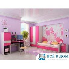 """Детская комната """"Вероника"""" Дуб\Розовый"""