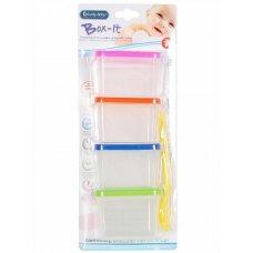 'Набор контейнеров Lucky Baby для продуктов + ложка