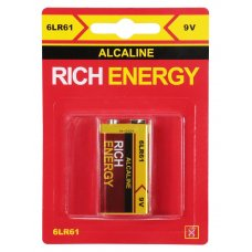 Батарейка 9V Alkaline 6LR61 (крона)