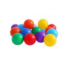 Шары для сухого бассейна Разноцветные с рисунком 7,5 см, 30 шт 1180348 Соломон