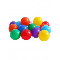 Шары для сухого бассейна Разноцветные с рисунком  7,5 см,  90 шт 1180345 Соломон