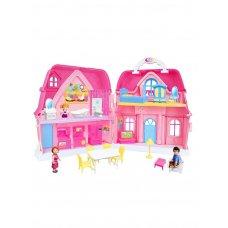 Дом для куклы BLD501 с мебелью и фигурками