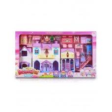 Дом для куклы 8159-1 с мебелью и фигурками