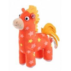 Мягкая игрушка Деревяшки Лошадка Иго-го музыкальная 20 см V92657/20 Мульти Пульти