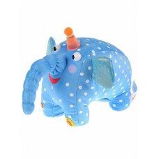 Мягкая игрушка Деревяшки Слон Ду-Ду музыкальная 20 см V92659/20 Мульти Пульти
