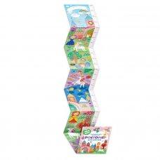 Ростомер для девочки с наклейками 160x16см 50833