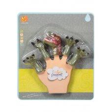 Детская  игрушка в виде животного Сегнозавра для пальчикового театра   TL-26