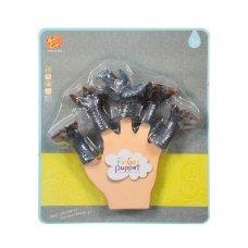 Детская  игрушка в виде животного Трицератопса для пальчикового театра   TL-26